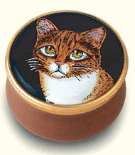 Staffordshire Marmalade Cat