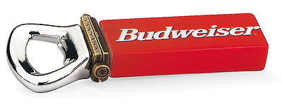Budweiser Bottle Opener with Bottle Cap PHB