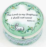 Staffordshire Psalm 23-Silvered Bezel