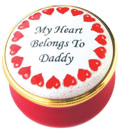 Staffordshire My Heart Belongs To Daddy