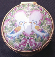 Staffordshire Valentines Doves
