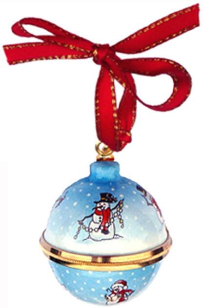 Staffordshire Christmas Ball Ornament (55-072)