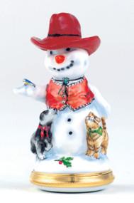 Staffordshire Western Snowman B/B