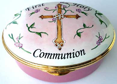 Staffordshire First Communion Pink