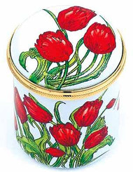 Staffordshire Red Tulips