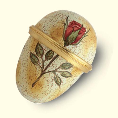 Staffordshire Rose Egg (51-430)