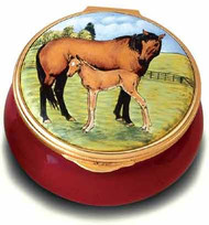 Staffordshire Mare & Foal