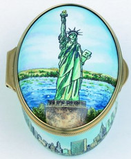 Staffordshire New York-Statue of Liberty