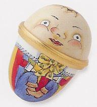 Staffordshire Humpty Dumpty Egg