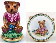 Staffordshire Teddy Pink B/B