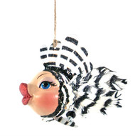 Katherine's Collection Zebra Striped Kissing Fish 28-828150