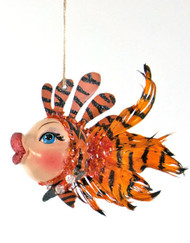 Katherine's Collection Tiger Striped Kissing Fish 28-828150