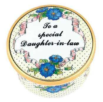 Staffordshire To a Special Daughter In Law