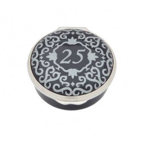 25 Classic Number Box Blue & Silver ENCL251001P