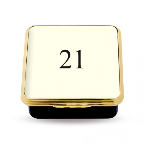 21 Contemporary Number Deep Base Box Ivory ENCN210258G