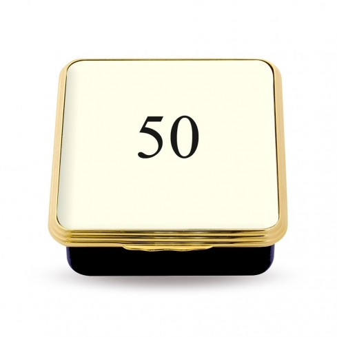 50 Contemporary Number Deep Base Box Ivory ENCN500258G