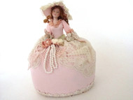 Quiet Elegance Half Doll Pin Cushion Doll (32VC105)