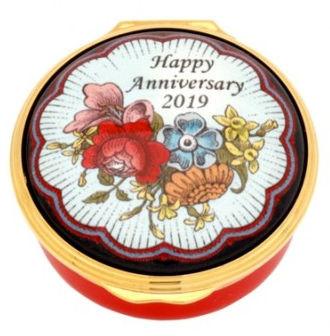 Halcyon Days 2019 Happy Anniversary Box ENHA190601G