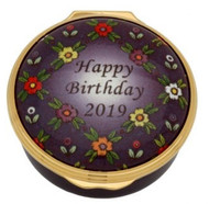 Halcyon Days 2019 Happy Birthday Box ENHB191101G