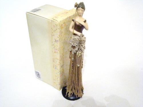Popular Imports Putting On The Ritz Gold Tassel Doll TD106