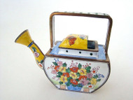 Kelvin Chen Flowers and Butterflies Enamel Watering Can EC3202