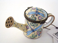 Kelvin Chen Blue Dragonfly Enamel Watering Can EC1107