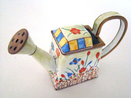 RETIRED Kelvin Chen Wild Flowers Enamel Watering Can EC3213 (EC3213)