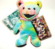 Liquid Blue Grateful Dead Bear Limited Edition VEGAS Bean Bear Collectible (LB12072)