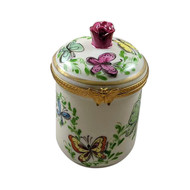 Rochard BUTTERFLY CANISTER Limoges Box RE248-L