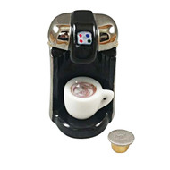 """Rochard """"R"""" CUP COFFEE MAKER WITH REMOVABLE COFFEE CUP AND """"R"""" CUP Limoges Box RK216-J"""