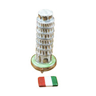 LEANING TOWER OF PISA Limoges Box (RT270-J)