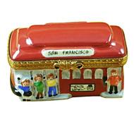 Rochad Trolley Limoges Box RT027-J