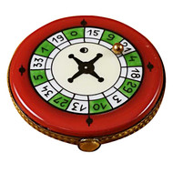 Limoges Imports ROULETTE WHEEL Limoges Box TG524-F
