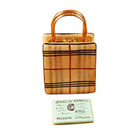 Rochard DESIGNER SHOPPING BAG Limoges Box RL201-I