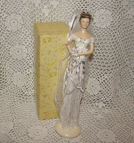 Putting On The Ritz Wedding Tassel Doll
