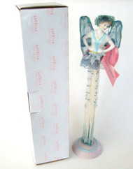 Show Stoppers with Blue Wings Porcelain Tassel Doll