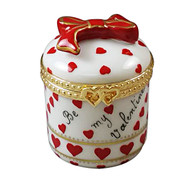 Heart Jewel Box - Be My Valentine Rochard Limoges Box