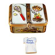 Camp Trunk Rochard Limoges Box