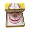 Cake Box W/Cake Rochard Limoges Box