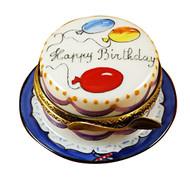 Rochard VANILLA BIRTHDAY CAKE Limoges Box RO113-H