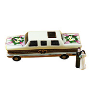 Limo W/Newlyweds Rochard Limoges Box