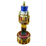 Burgundy Nutcracker Rochard Limoges Box