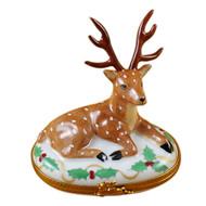 Reindeer Christmas Rochard Limoges Box