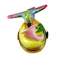 Hummingbird Rochard Limoges Box