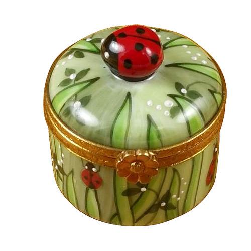 Ladybug In Grass Rochard Limoges Box