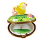 Small Chick Hatching Rochard Limoges Box