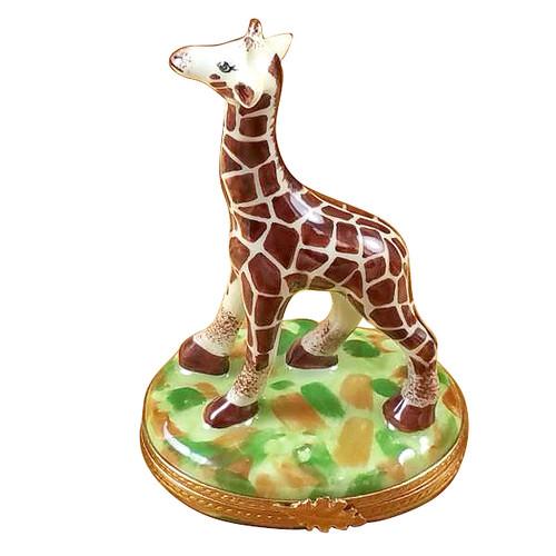 Giraffe Rochard Limoges Box