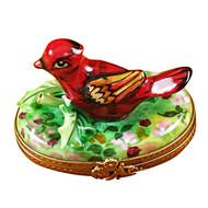 Cardinal - Spring Rochard Limoges Box