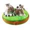 Lemur Monkeys Rochard Limoges Box
