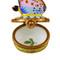 Mini Butterfly On Daisy Rochard Limoges Box